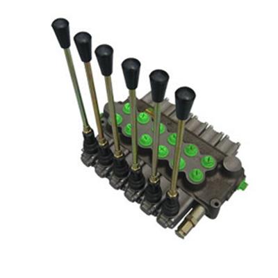 Rozdzielacz hydrauliczny do maszyn mobilnych typ HC-D10 – max 55 l/min, max 350 bar