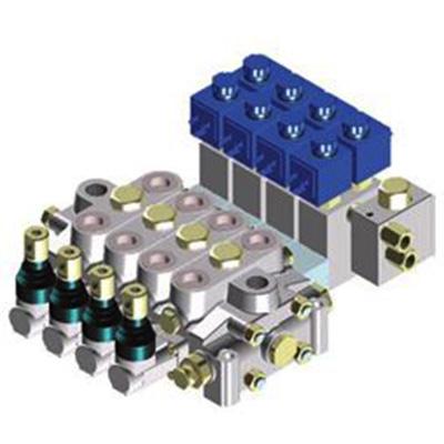 Rozdzielacz hydrauliczny do maszyn mobilnych typ HC-D4 – max 80 l/min, max 350 bar