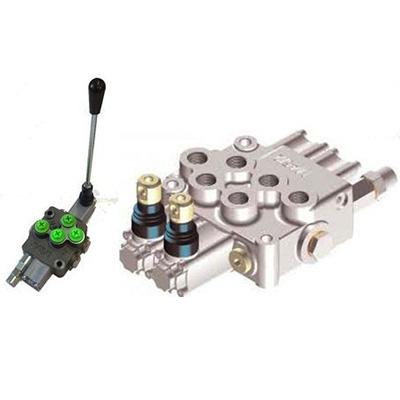 Rozdzielacz hydrauliczny do maszyn mobilnych typ HC-M45 – max 45 l/min, max 350 bar