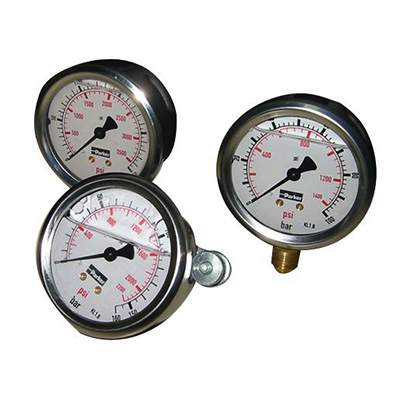 Manometry (średnica tarczy 63 mm)