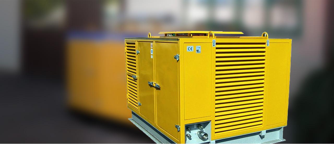 Agregaty hydrauliczne spalinowe typu AHS