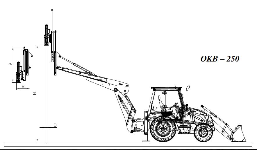 Budowa i zasada działania OKB – 250
