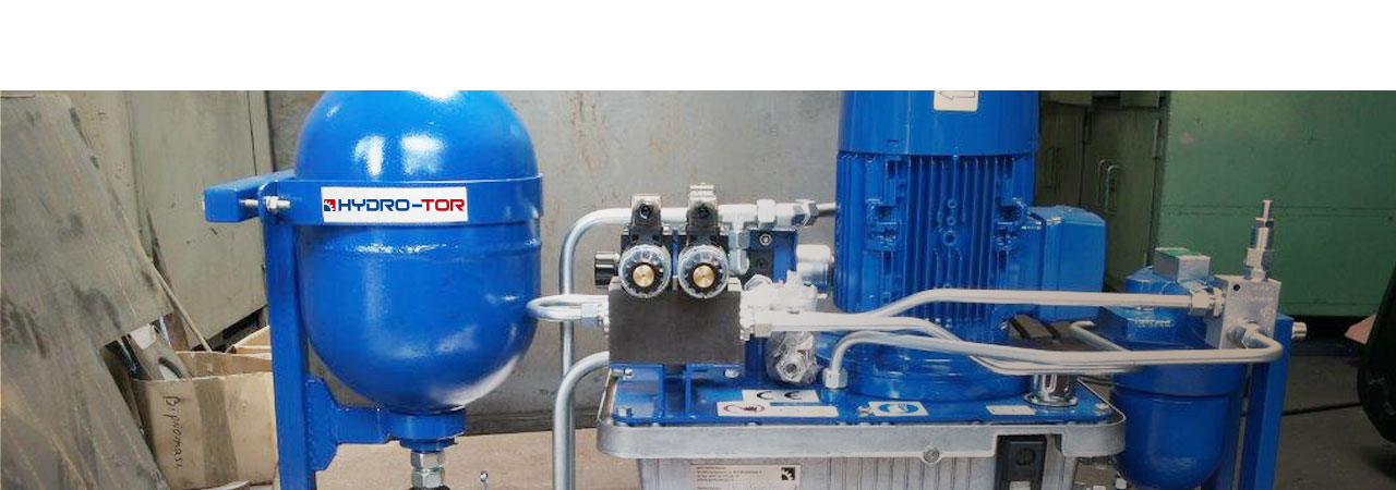 Agregaty hydrauliczne elektryczne