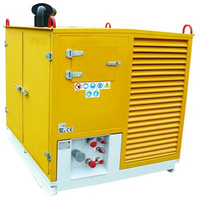Agregat hydrauliczny spalinowy AHS-50