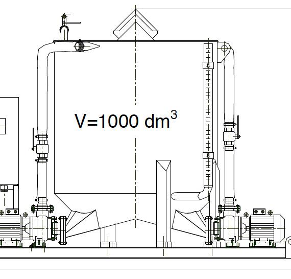 Zestaw Urządzeń Mieszających typu ZUM–200