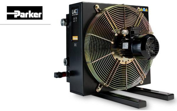 Chłodnica oleju typu LAC z silnikiem prądu przemiennego