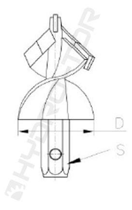 Głowice ślimakowe wzmocnione typu GSW