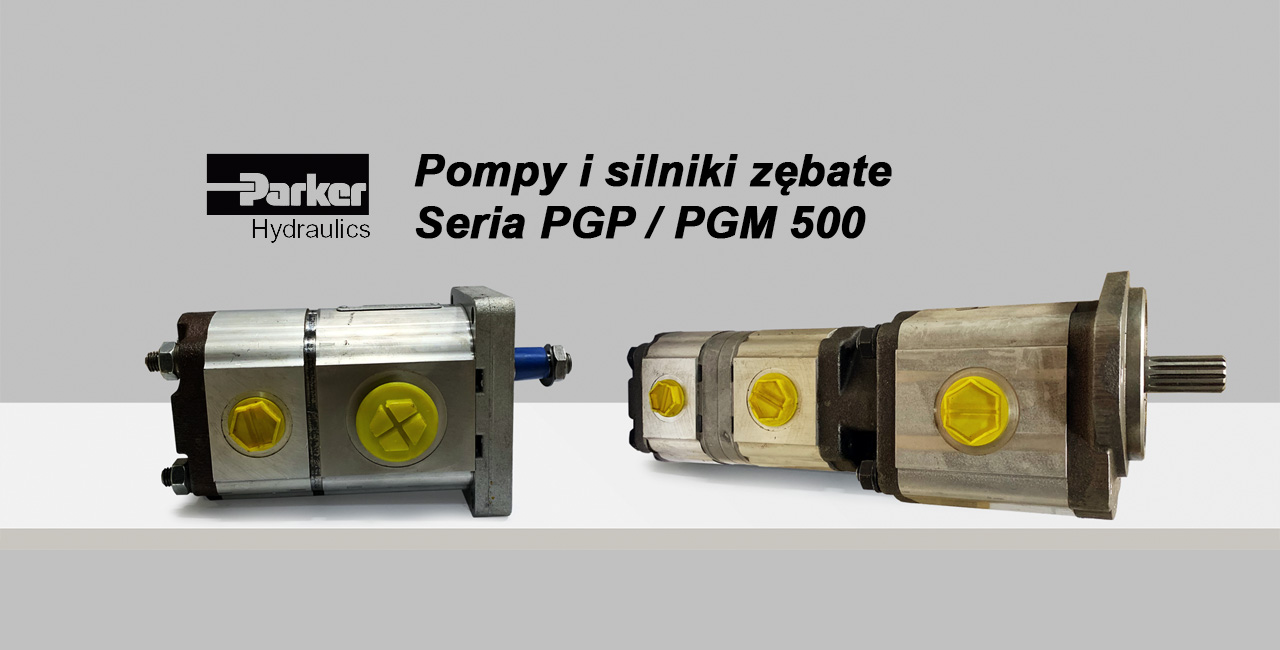 HYDRO-TOR prowadzi montaż pomp i silników zębatych Parker serii PGP / PGM 500